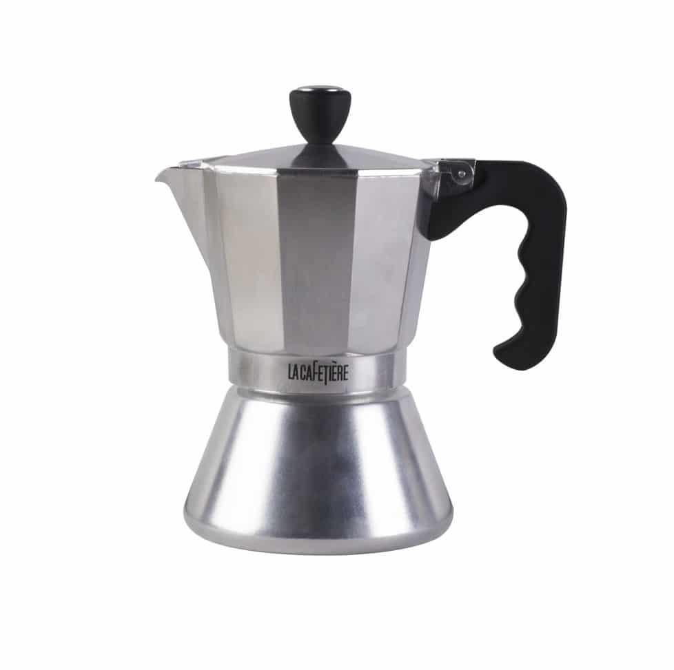 la cafetiere 6 cup induction coffee press moka pot shop. Black Bedroom Furniture Sets. Home Design Ideas