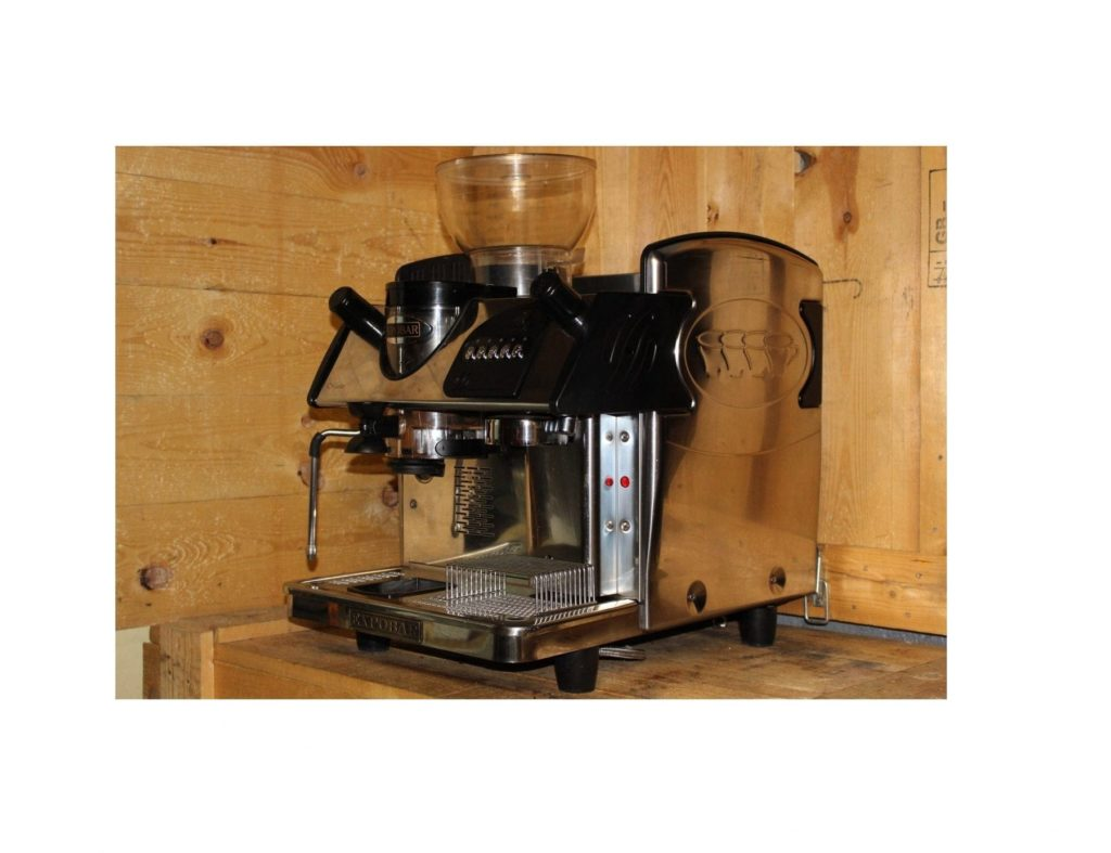 Expobar Markus Mini Control In Black With Grinder 1 Group