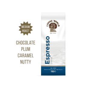 Espresso Blend - 1kg Coffee Beans - by Coffee World