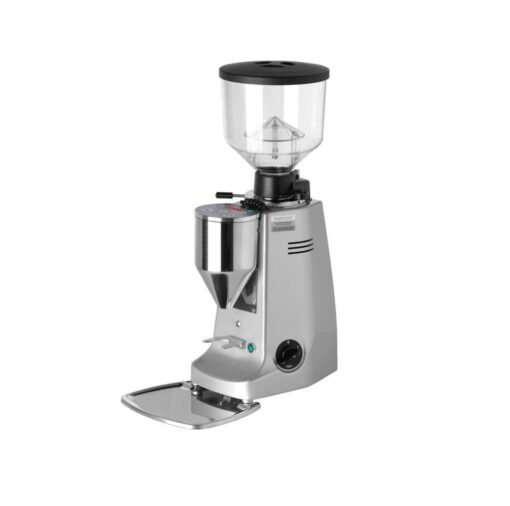 Mazzer Major Grinder Doser (Electronic On Demand) Silver
