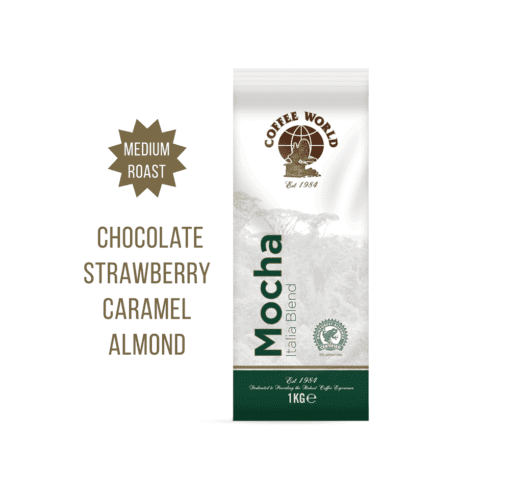 Mocha Italia Blend - 1kg Coffee Beans - by Coffee World