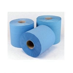 Blue Roll & White Roll