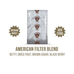 American Filter Blend 30x250g Coffee Sachets - by Coffee World
