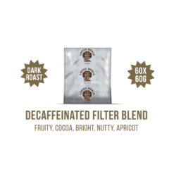 Decaffeinated Centrals MC Filter Blend 60x60g Coffee Sachets - by Coffee World