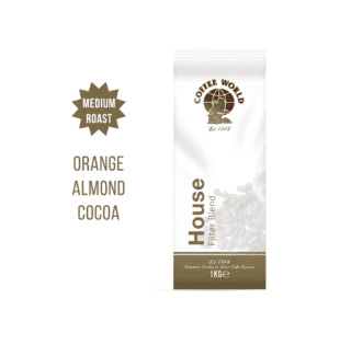 House Filter Blend - 1kg Coffee Beans - by Coffee World