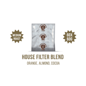 House Filter Blend 60x60g Coffee Sachets - by Coffee World