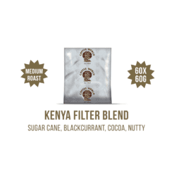Kenya Filter Blend 60x60g Coffee Sachets - by Coffee World