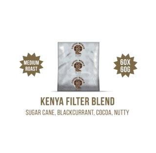 Kenya Filter Blend 60x60g Coffee Sachets - by Coffee World