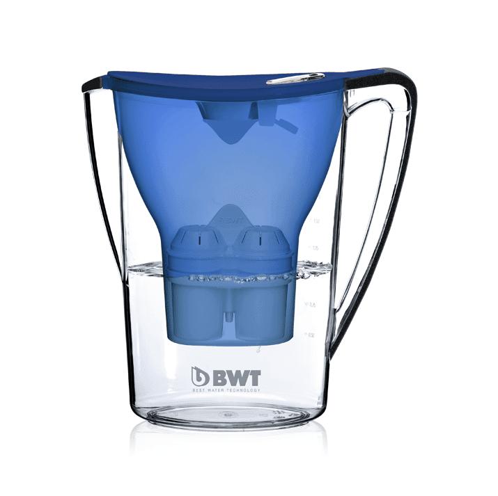 bwt penguin 2 7l table water filter jug 1 cartridge ocean blue shop coffee. Black Bedroom Furniture Sets. Home Design Ideas