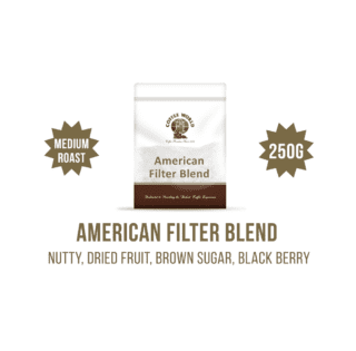 American Filter Blend 250g Coffee Beans - by Coffee World