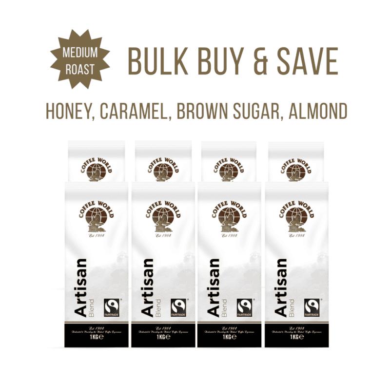 Artisan Blend – 8x1kg Coffee Beans – by Coffee World