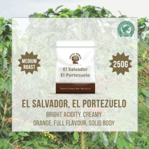 El Salvador RFA El Portezuelo Single Origin 250g Coffee Beans - by Coffee World