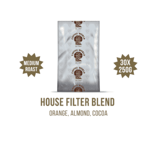 House Filter Blend 30x250g Coffee Sachets - by Coffee World