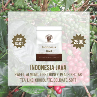Indonesia Java Single Origin 250g Coffee Beans - by Coffee World