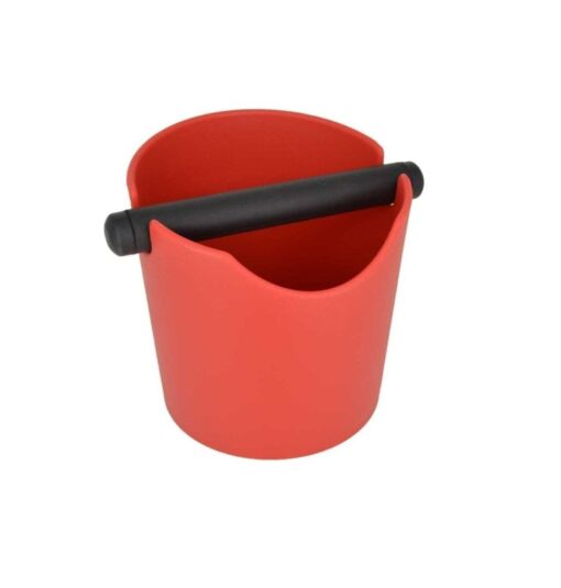 Rhinowares Coffee Waste Bin Red
