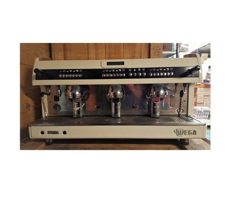 Wega Sphera - White - 3 group - Used Coffee Machine