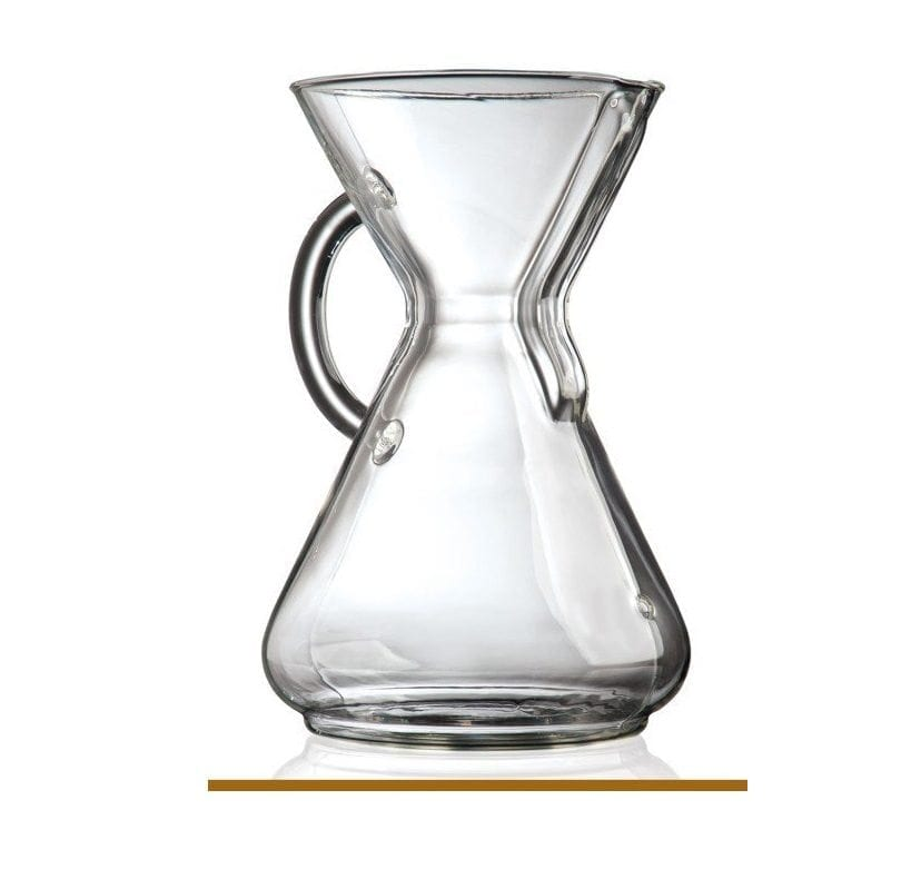 Chemex 10 Cup Coffee Maker With Glass Handle Shop Coffee