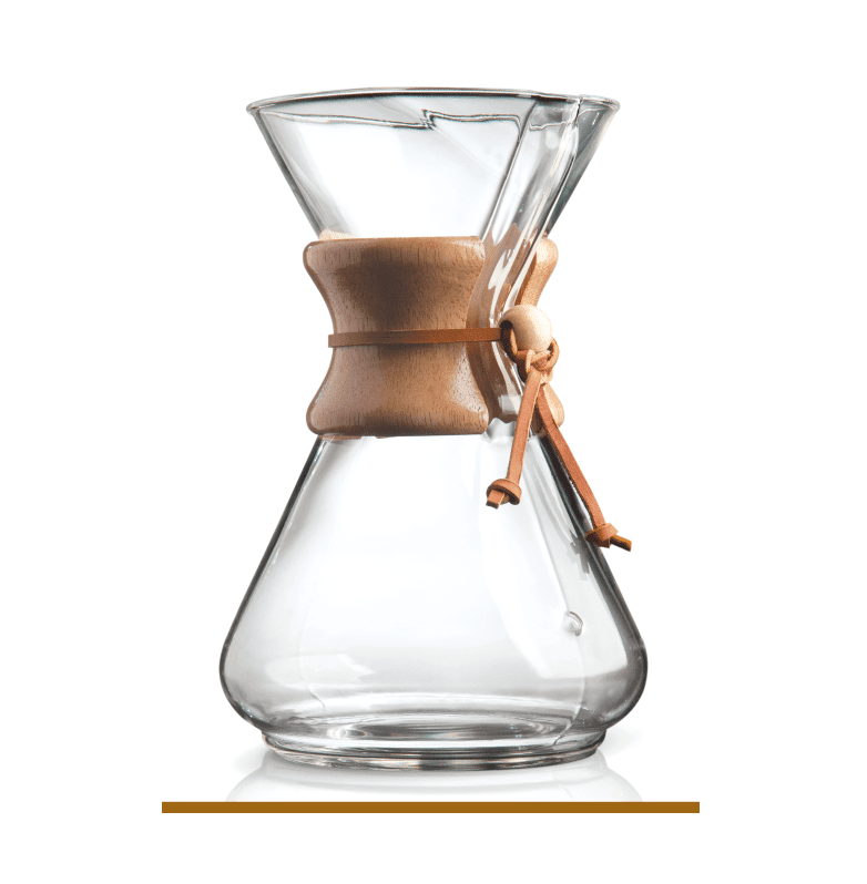 Chemex Manual Coffee Maker : Chemex 10 Cup Wood Neck Coffee Maker Shop Coffee
