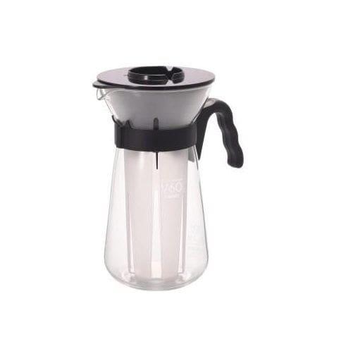 hario water brew coffee pot instructions