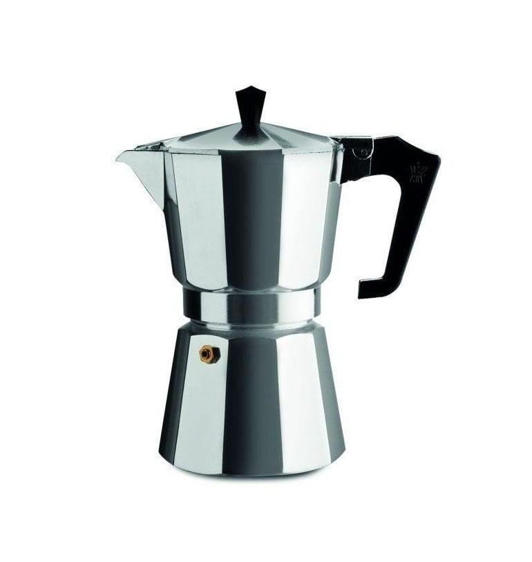 pezzetti italexpress aluminium moka pot 6 cup shop coffee