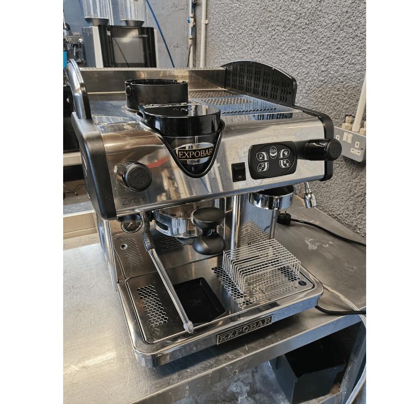 Expobar Zircon 1 Group Compact Internal Grinder Integral Reconditioned Espresso Machine
