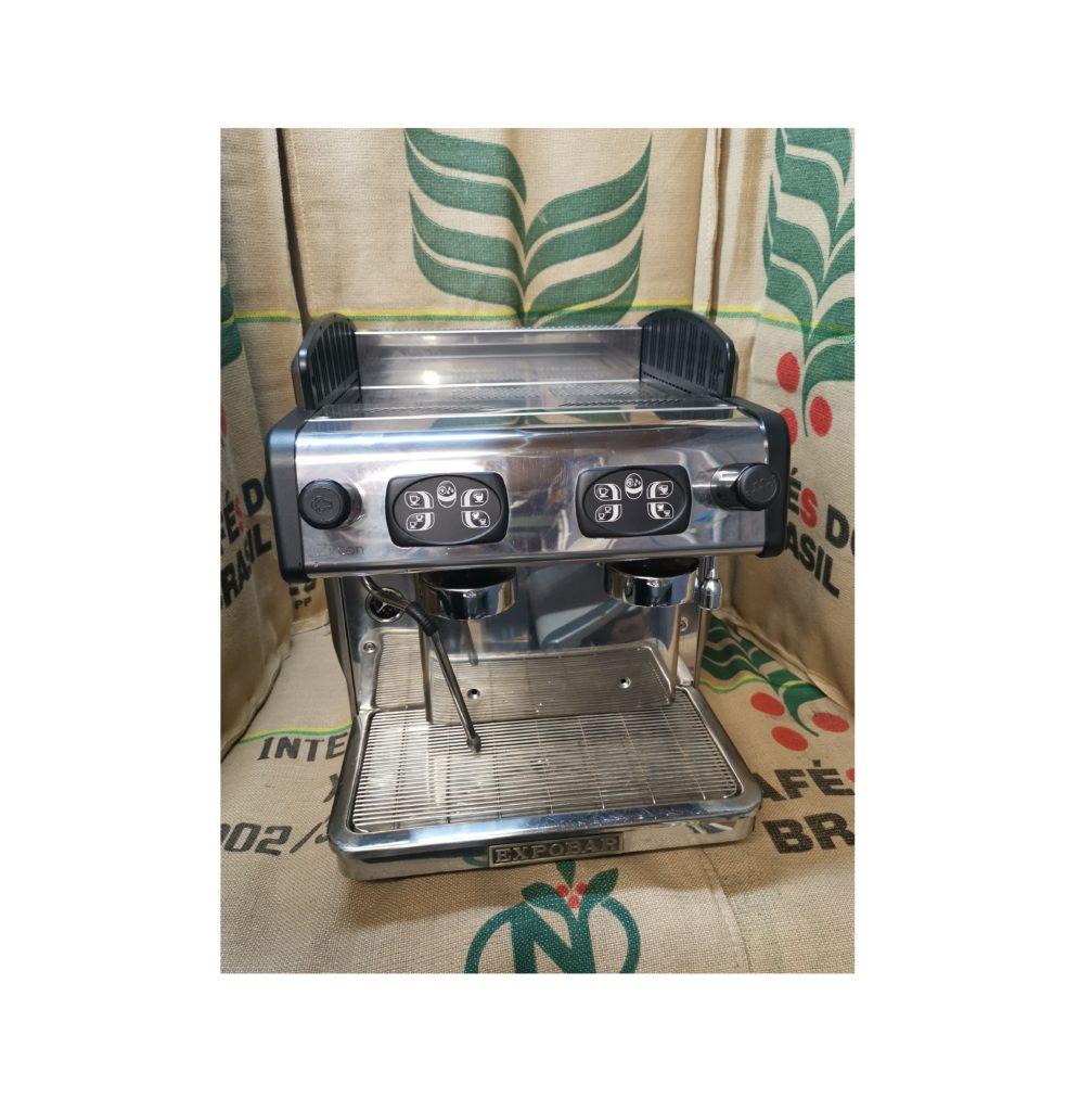 Expobar Zircon 2 Group Black Silver Reconditioned Coffee Machine